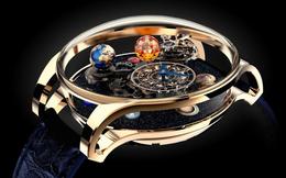 Tuyệt phẩm triệu đô dành cho giới thượng lưu: Hệ Mặt Trời thu nhỏ trong chiếc đồng hồ Astronomia Solar