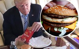Mặc dù sở hữu tài sản kếch xù, Tổng thống Donald Trump vẫn 'chìm đắm' trong những bữa tối giản dị đến bất ngờ