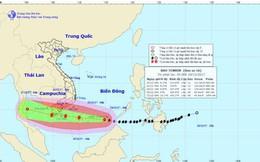 Bão số 16 Tembin sắp đổ bộ vào Bà Rịa Vũng Tàu - Cà Mau