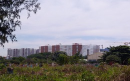 Cận cảnh khu vực xung quanh nghĩa trang lớn nhất TP.HCM giải tỏa làm khu đô thị cao cấp