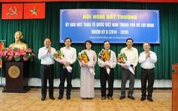 Bà Tô Thị Bích Châu làm Chủ tịch Ủy ban MTTQ TP HCM