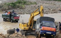 Giao thông vượt khó sau lũ ở Mường La, Sơn La