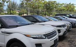 Hàng chục ô tô chuyên dụng nhập khẩu bỏ tại cảng
