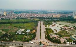Cận cảnh tuyến đường 60m Ngoại giao đoàn kết nối Võ Chí Công sắp hoàn thành
