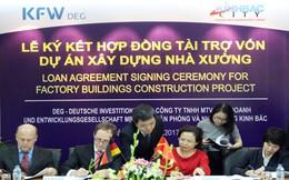 """Nhà đầu tư Đức """"bơm"""" 15 triệu USD cho Kinh Bắc (KBC) đầu tư xây dự án nhà xưởng"""