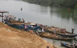 Tình trạng khai thác cát trái phép vẫn diễn biến phức tạp