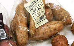 Khoai lang Hàn Quốc 400 ngàn/kg: Chị em mua ăn trừ bữa
