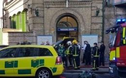"""Vụ nổ tàu điện ngầm London sáng 15/9 là """"khủng bố"""""""