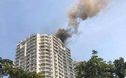 Hà Nội: Cháy lớn tại chung cư cao cấp Golden Westlake Hồ Tây