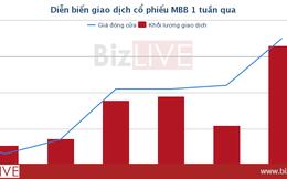 [Cổ phiếu nổi bật tuần] Lợi nhuận tăng bất thường, cổ phiếu MBB tăng 65%