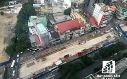 """""""Đột nhập"""" đại công trường thi công các nhà ga tuyến metro số 1 Bến Thành - Suối Tiên"""