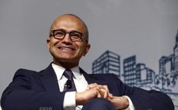 CEO Microsoft Satya Nadella vừa kiếm được 20 triệu USD