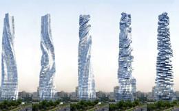 Ngắm nhìn tòa nhà chọc trời xoắn đầu tiên sắp được xây dựng, dẫn đầu thế giới về không gian sống xa xỉ tại Dubai