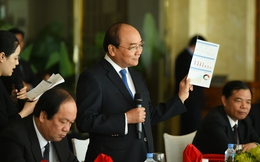 Thủ tướng tọa đàm với các tập đoàn thành viên WEF về kinh tế Việt Nam