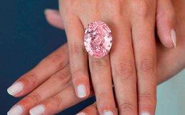Pink Star xác lập kỉ lục: Viên kim cương đắt giá nhất thế giới với mức giá 71 triệu USD