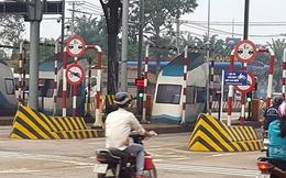 CSGT Đồng Nai đang làm việc với tài xế liên quan BOT Biên Hòa