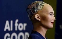 """Gặp Sophia, công dân robot đầu tiên của thế giới, kẻ nói sẽ """"hủy diệt loài người"""""""