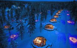 Chiêm ngưỡng cực quang kỳ diệu từ khách sạn kính đẹp như cổ tích ở Phần Lan