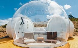 Tận hưởng trọn vẹn không gian thiên nhiên trong những căn lều bong bóng tiện nghi như khách sạn ở Australia