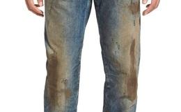 Quần jeans dính bùn đất bán 10 triệu đồng vẫn đắt hàng