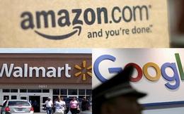 Kẻ thù của kẻ thù sẽ là bạn: Walmart bắt tay với Google để chặn đường Amazon
