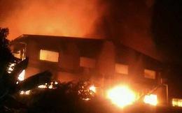 Cháy lớn tại xưởng sản xuất mỳ tôm, thiệt hại hơn 100 tỷ đồng