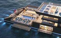 """Siêu du thuyền """"khủng"""" với nội thất 5 sao giữa biển sẽ là chốn nghỉ dưỡng lí tưởng cho các tỷ phú"""
