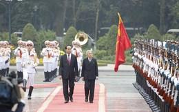 Chủ tịch nước chủ trì lễ đón Nhà vua và Hoàng hậu Nhật Bản
