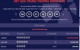 Trúng hơn 22,2 tỉ đồng từ Jackpot