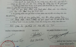 Khiếu kiện ở Hải Dương, đảng viên nhận bút phê quá lạ