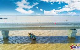 Bộ GTVT phủ nhận cầu vượt biển dài nhất bị nứt dầm