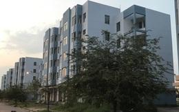 Cận cảnh khu nhà giá rẻ gần 2.000 căn hộ vắng bóng người tại huyện Bình Chánh