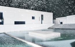 Cùng chiêm ngưỡng lối kiến trúc vô cùng ấn tượng của chi nhánh bảo tàng Louvre tại Trung Đông