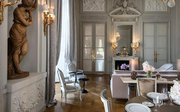 Trải nghiệm cảm giác 'sống trong cung điện' tại khách sạn đặc biệt nhất Paris, nơi người giàu chi tới 56.000 USD cho một đêm