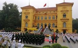 [ẢNH] Phủ chủ tịch trước giờ đón Nhật Hoàng
