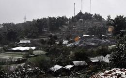 Nhiệt độ giảm sâu, Sa Pa, Mẫu Sơn, Điện Biên... xuất hiện băng tuyết