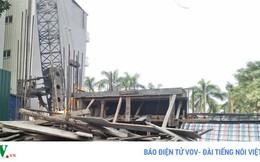 Công trình xây dựng ngang nhiên lấn chiếm đất công