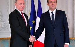 Tổng thống trẻ tuổi của Pháp chê trách truyền thông Nga trước mặt ông Putin