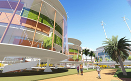 Ngỡ ngàng với dự án thành phố nổi đầu tiên trên thế giới
