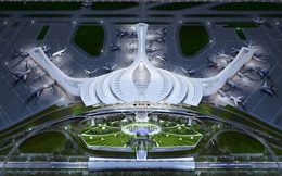 Bộ Giao thông chốt thiết kế hình hoa sen cho sân bay Long Thành