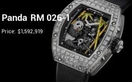 """10 tuyệt phẩm """"triệu đô"""" của Richard Mille: Khi những chiếc đồng hồ còn đắt hơn cả siêu xe"""