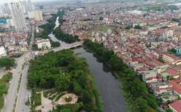Những con sông chết ở Hà Nội trước ngày hồi sinh nhìn từ trên cao