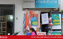 Các hộ kinh doanh sẽ không được bán SIM di động