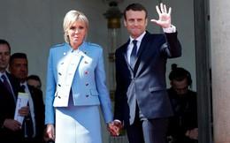 Tân Tổng thống Pháp mặc vest giá rẻ, phu nhân diện đồ đi mượn trong lễ nhậm chức