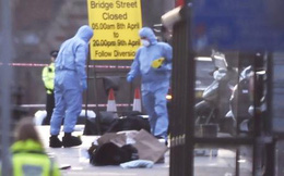 """Mô phỏng vụ tấn công """"khủng bố"""" bên ngoài tòa nhà Quốc hội Anh"""