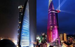 Hình ảnh toà tháp Telekom Tower ở Malaysia được cho là na ná toà tháp Bitexco Financial Tower ở Sài Gòn