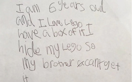 Cậu bé 6 tuổi viết thư tay xin việc ở Lego Land và cái kết bất ngờ