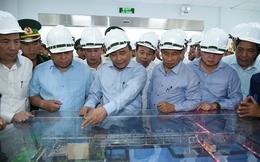 Thủ tướng thị sát hệ thống xử lý nước thải tại Formosa Hà Tĩnh