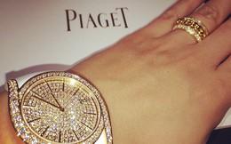"""Siêu phẩm đồng hồ nạm kim cương của Thụy Sĩ: Khẳng định sắc đẹp, địa vị của một """"nữ vương"""""""