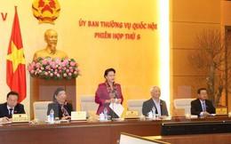 Ủy ban Thường vụ Quốc hội sẽ tiến hành 10 phiên họp trong năm 2017